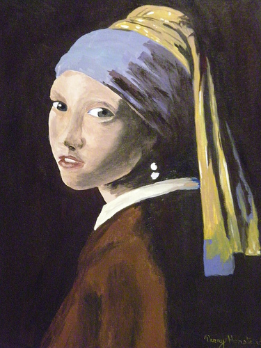 girl with a pearl earring essays