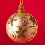 Ornament with Golden Decorations