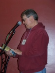 "Wendell Affield reading from his book ""Muddy Jungle Rivers"""
