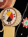 beaded medicine wheel detail