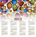 2013 calendar clipart
