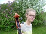 Cellist Gwenfrewi Burger